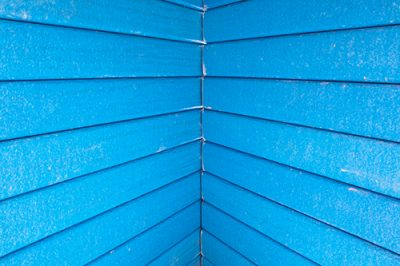 Blue Slats by Heather Miller of WhiteRosesArt.com