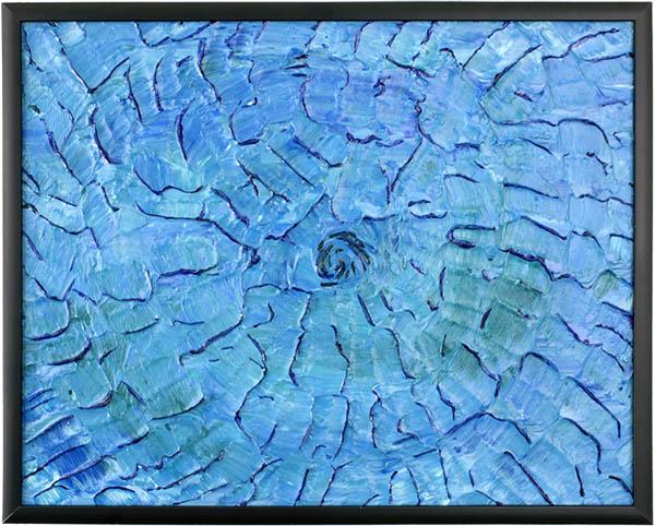 Blue Summer by Heather Miller of WhiteRosesArt