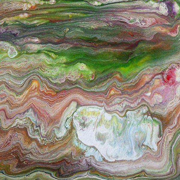Sedimentary Paint by Heather Miller, WhiteRosesArt