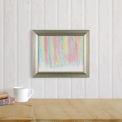 After the Storm - Rainbow Abstract Pour Painting by Heather Miller Art